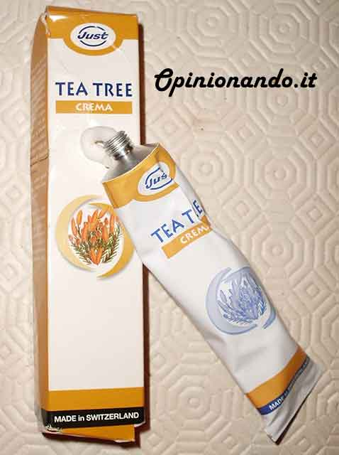 Just Crema Tea Tree Recensione