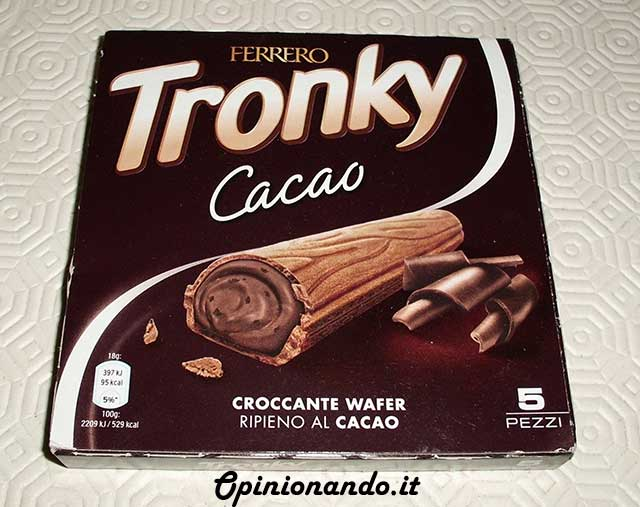 Tronky Cacao Front