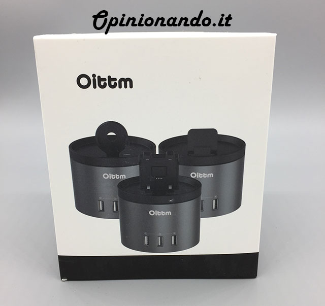 Oittm Multifunctional USB Charging Station Lato
