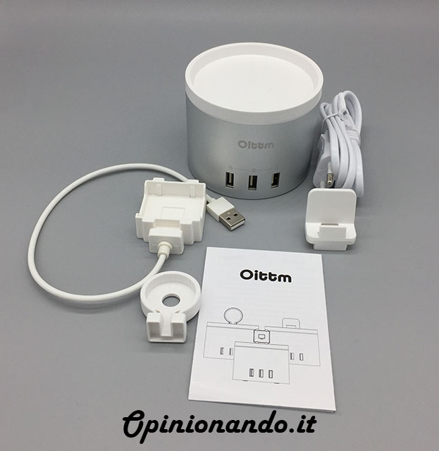 Oittm Multifunctional USB Charging Station Libretto