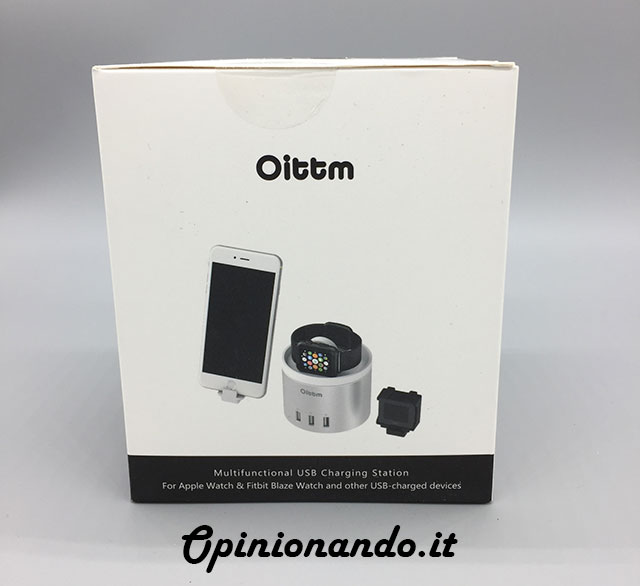 Oittm Multifunctional USB Charging Station Recensione