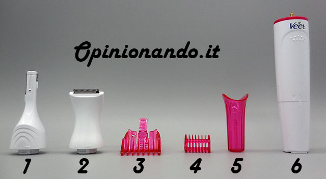 Veet Sensitive Precision Beauty Styler Accessori