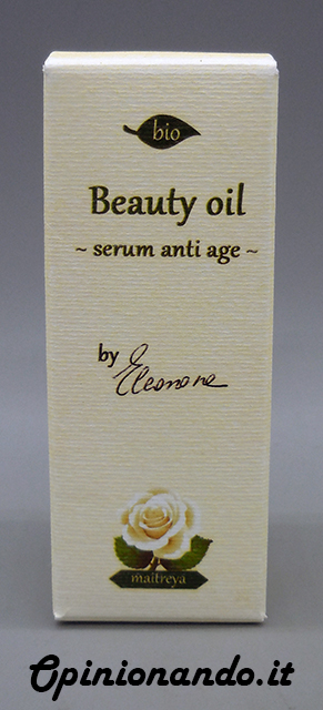 Maitreya Beauty Oil Serum Anti Age BIO Confezione